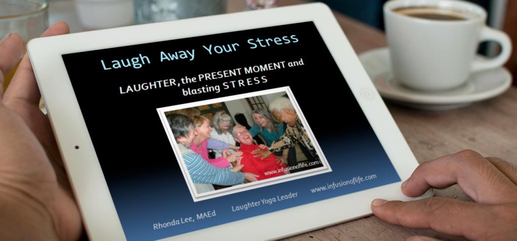 Laugh Away Your Stress Ipad